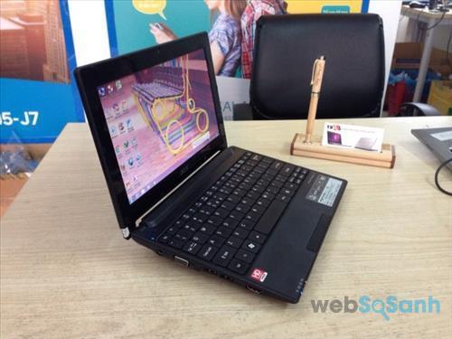 Laptop mini có thời lượng pin khá ổn