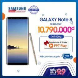Samsung Note 8 - 6GB RAM - 64GB ROM - 6.3 inch