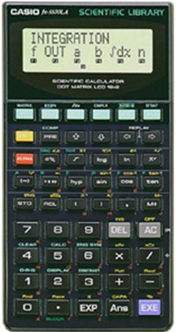 Máy tính khoa học Casio FX-5500LA