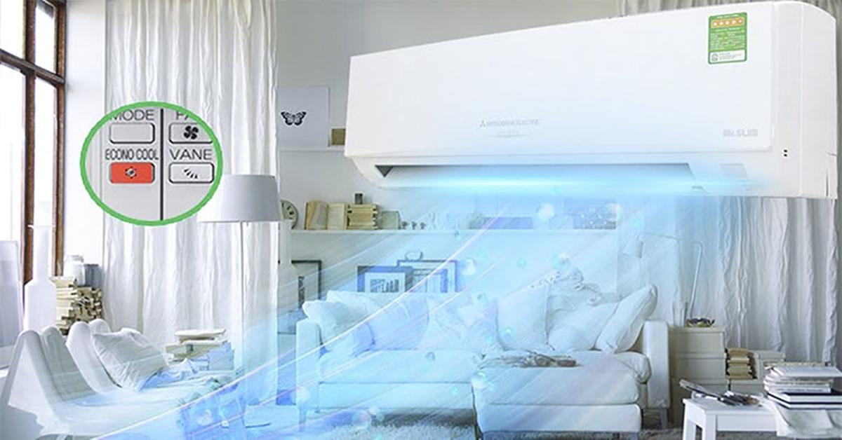 Chế độ tiết kiệm điện trên điều hòa đaikin