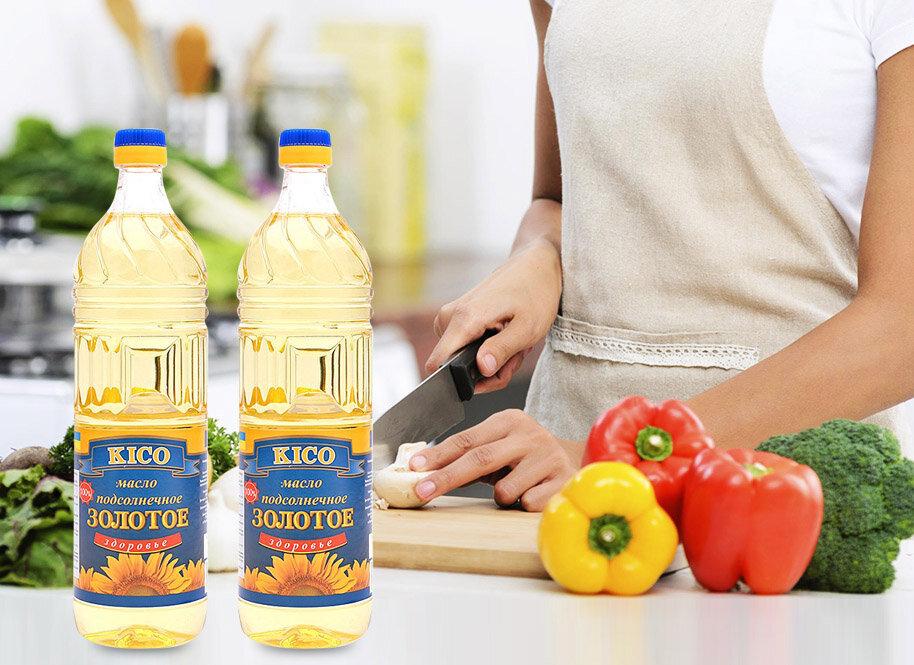 Dầu hướng dương Kico là thương hiệu được nhiều bếp gia đình tin dùng hiện nay