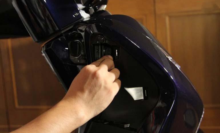 smartkey trên xe máy honda