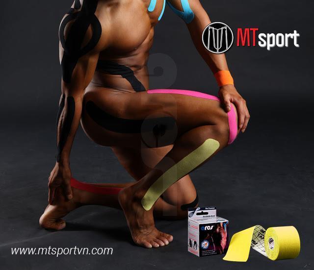"""Băng dán cơ Ares – """"tiên dược"""" với những chấn thương cơ, mô của người tập luyện thể thao"""