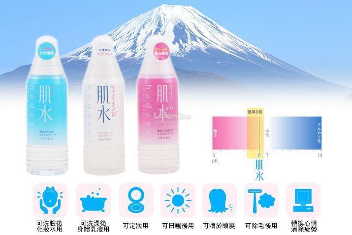 xịt khoáng shiseido