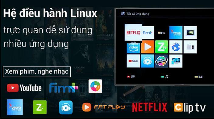 Smart Tivi Sony 4K 65 inch KD-65X7000F - Giá rẻ nhất: 18.823.000 vnđ