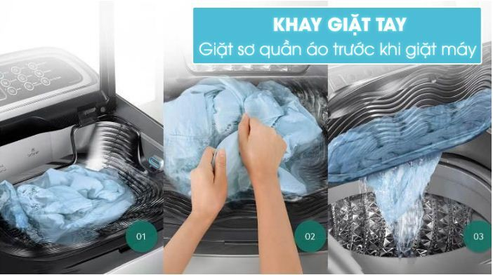 Máy giặt Samsung 9 kg WA90J5710SG/SV - Giá rẻ nhất: 5.090.000 vnđ