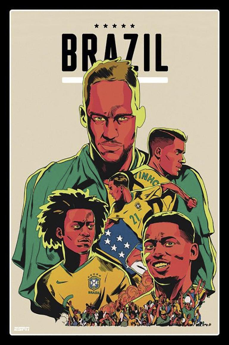 Với đội hình toàn ngôi sao sáng, đặc biệt là Neymar thì Brazil vẫn là ứng cử viên hàng đầu của chức vô địch, nhưng liệu họ có trả được mối hận để thua đội tuyển Đức với tỷ số 1 - 7 ở kỳ World trước hay không