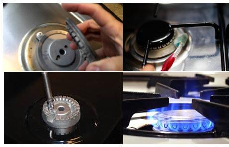 sử dụng bếp gas tiết kiệm điện và an toàn