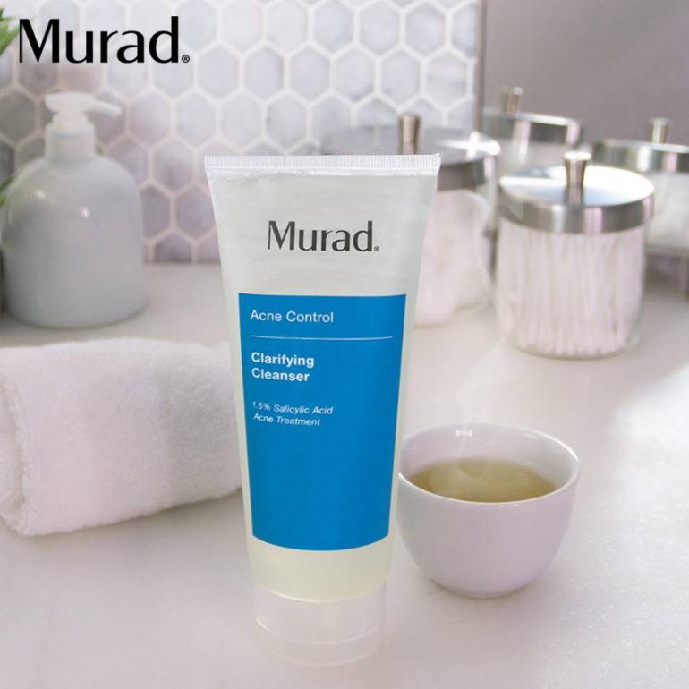 Sữa rửa mặt cho da dầu mụn Murad Clarifying Cleanser