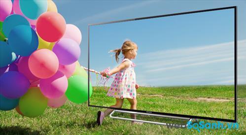 Hình ảnh sắc nét và chiều sâu hoàn hảo là điểm ưu việt trên Sony LED KDL-48W600B