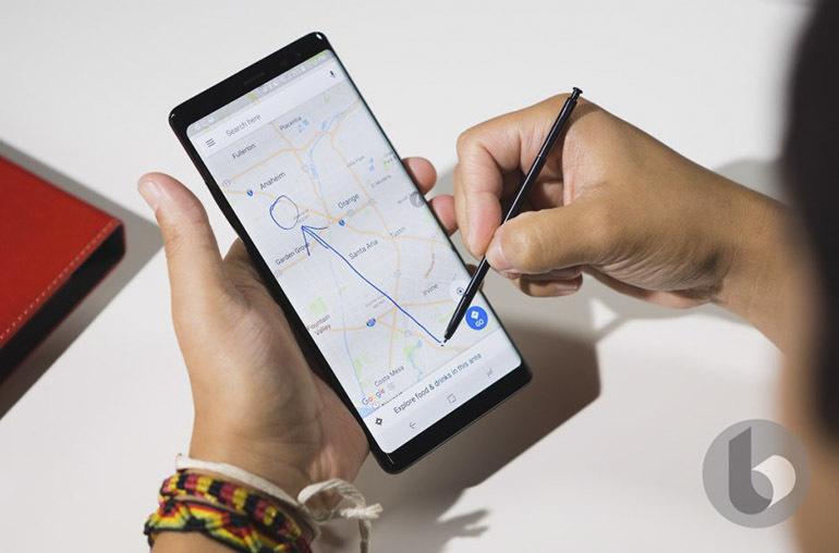 Bút S Pen trên Samsung Galaxy Note 9