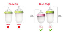 8 cách kiểm tra bình sữa Comotomo chính hãng