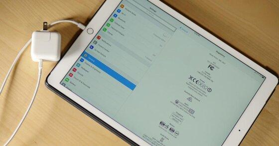 8 cách sạc pin iPad nhanh đầy bảo vệ tuổi thọ pin không bị chai
