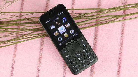 8 điện thoại Philips pin trâu số to tiếng rõ giá từ 300k
