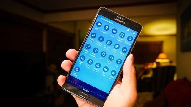 8 lỗi thường gặp trên Galaxy Note 4 và cách xử lý
