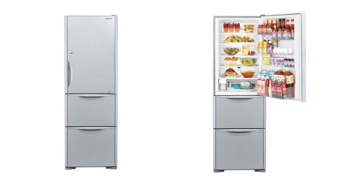 5 điểm nhấn khiến tủ lạnh 3 cánh Hitachi R-SG38FPGV (GS) 375L bán chạy