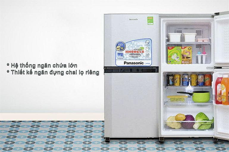 Tử lạnh panasonic 135l giá rẻ chất lượng nhất bao nhiêu tiền