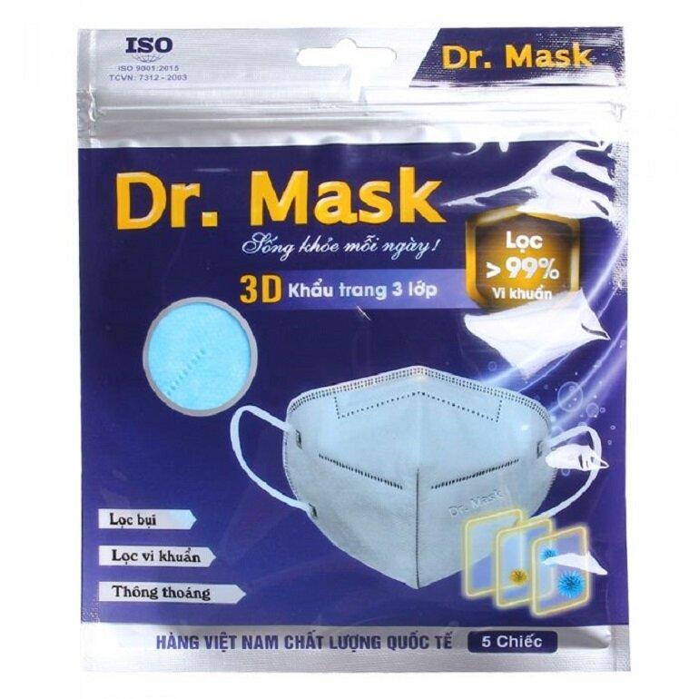 khẩu trang dr mask 3 lớp