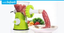 Top 5 mẫu máy xay thịt điện công suất cao giá chỉ 1 triệu đồng