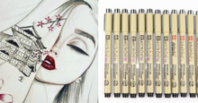 Bút sakura pigma micron có mấy loại , mấy màu ? Bút line art Sakura được ứng dụng như thế nào trong cuộc sống ?