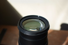 Các vấn đề thường gặp khi sử dụng ống kính máy ảnh