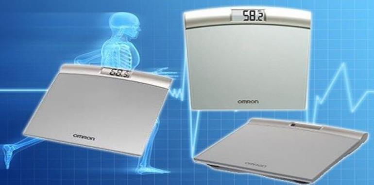 Cân sức khỏe điện tử Omron HN283 (HN 283)