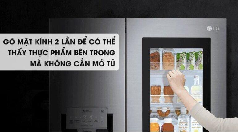 Tủ lạnh LG Instaview Door-in-Door GR-Q247JS 626 Lít