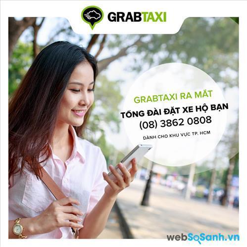 Đặt hộ xe qua tổng đài là cách thức dễ dàng hơn để bạn sử dụng GrabTaxi