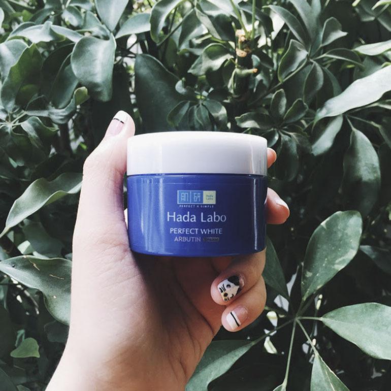 Kem dưỡng trắng da Hada Labo Perfect White 50g dưỡng ẩm và chăm sóc làn da tốt nhất