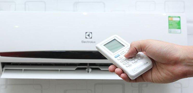 điều chỉnh nhiệt độ điều hòa
