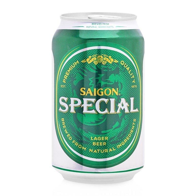 Bia Sài Gòn Sabeco lon 330ml