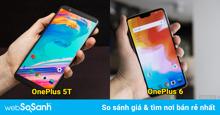 So sánh chi tiết sự khác biệt giữa OnePlus 6 vừa ra mắt 2018 và OnePlus 5T