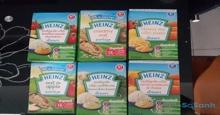 Giá bột ăn dặm Heinz Anh