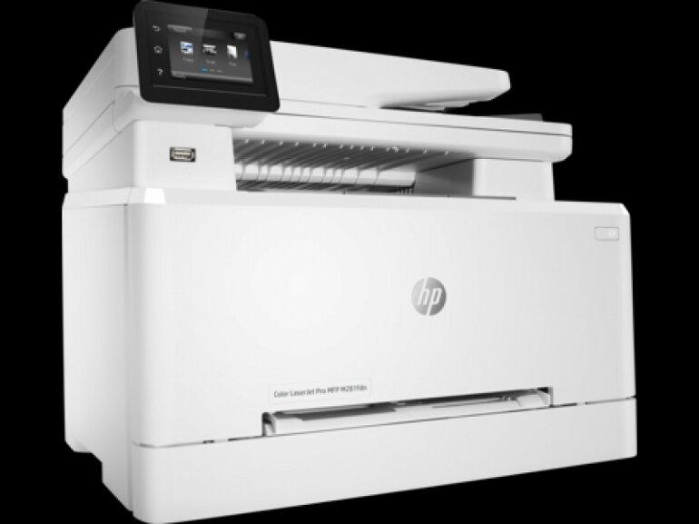 Máy in laser màu HP LaserJet Pro M281fdw: tổng thể tốt nhất.