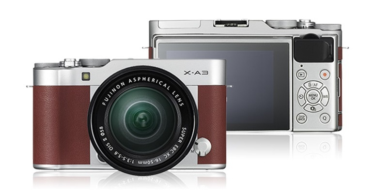 máy ảnh mirrorless fujifilm x-a3