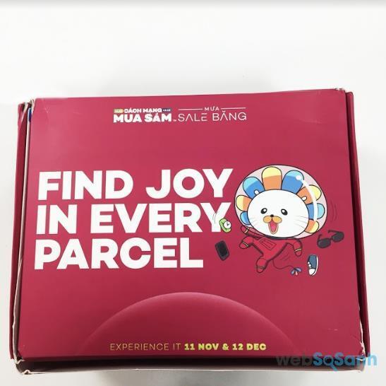 sáp thạch dưỡng ẩm tối ưu Hada Labo Gokujyun Premium Balm 25g xuất hiện trong Box of Joy của Lazada