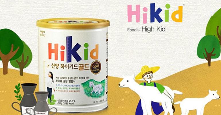 Review sữa Hikid dê có tốt không ? Có mấy vị ? Giá bao nhiêu ? Cách pha chuẩn ?