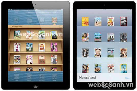 So sánh Apple iPad Air và iPad 4: những siêu phẩm công nghệ | websosanh.vn