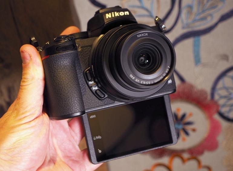 màn hình LED máy ảnh Nikon Z50