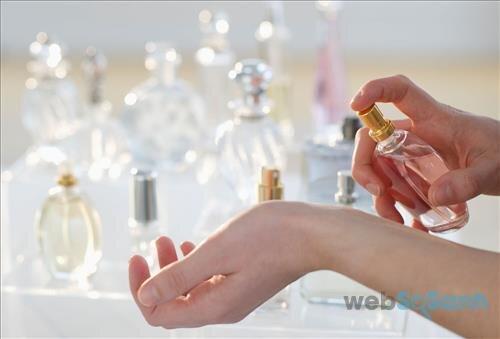 Nước hoa nữ rất đa dạng với nhiều mùi hương khác nhau