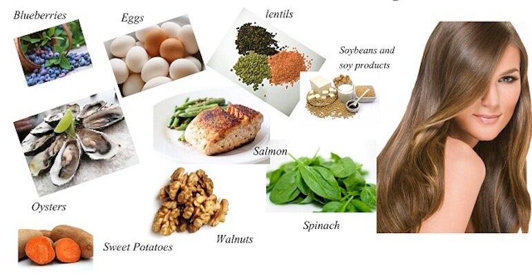 Bổ sung đủ dưỡng chất để tóc luôn chắc khỏe