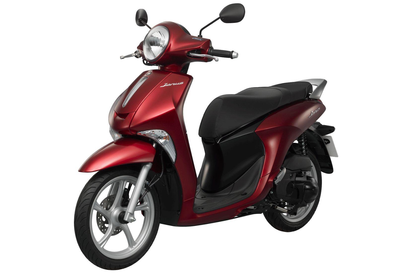 Yamaha Janus có bảng màu sắc hiện đại, trẻ trung