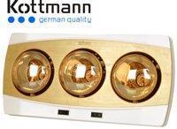 Đèn sưởi nhà tắm Kottmann K3BH (K3B-H) - 3 bóng