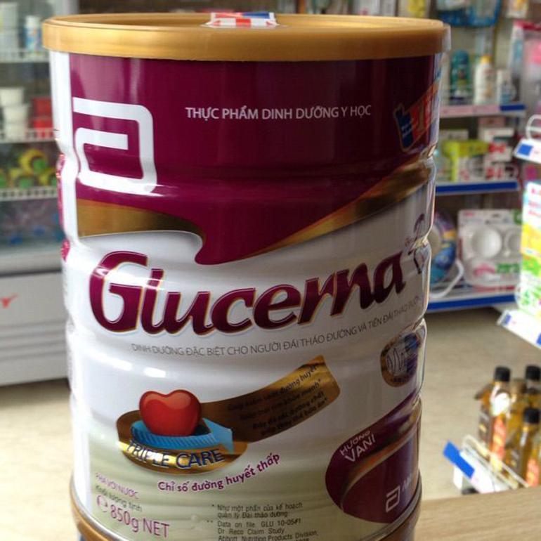 Sữa tiểu đường Glucerna có tốt không ?