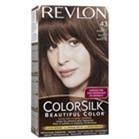 Thuốc nhuộm tóc REVLON Colorsilk Haircolor #43 Medium Golden Brown 59.1ml