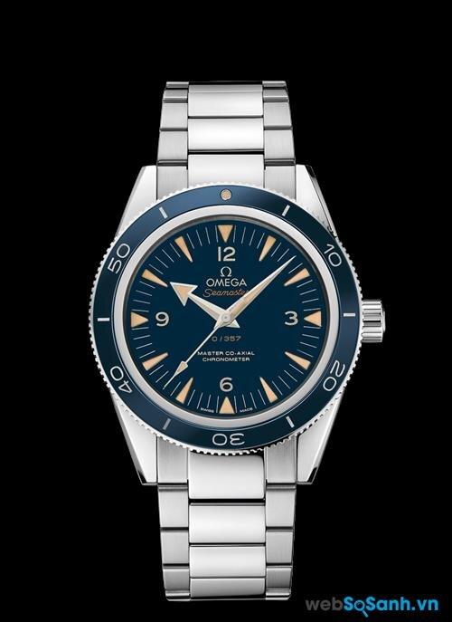 Omega Seamaster là dòng đồng hồ chống thấm nước hàng đầu