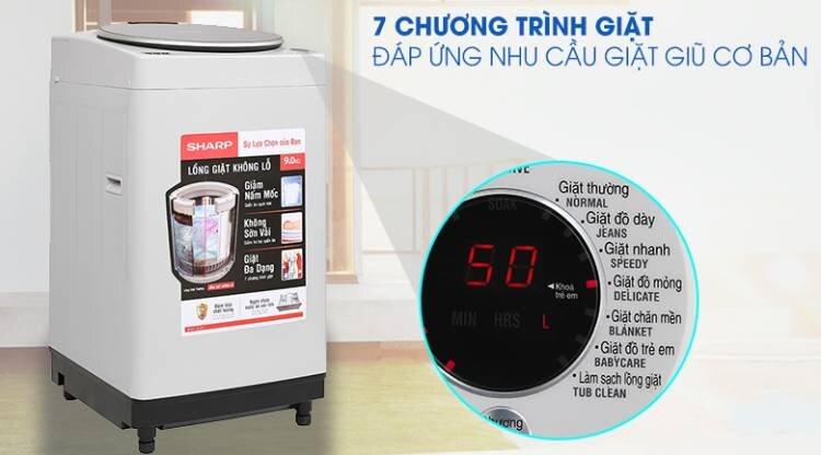 máy giặt Sharp 7kg, 8kg, 9kg, 10kg