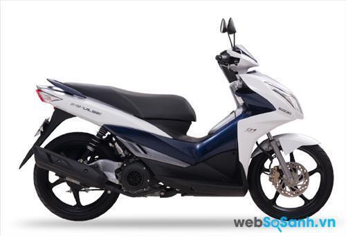 Suzuki Impulse là chiếc xe tay ga thể thao dành cho phái mạnh