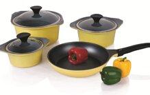 9 bộ nồi Goldsun dùng bếp từ tốt nhất 3 lớp chống dính giá từ 300k