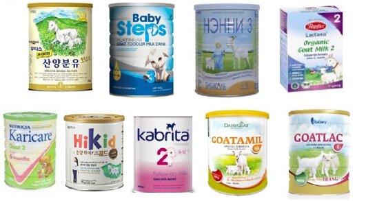 9 loại sữa dê công thức tốt cho bé và giá cả